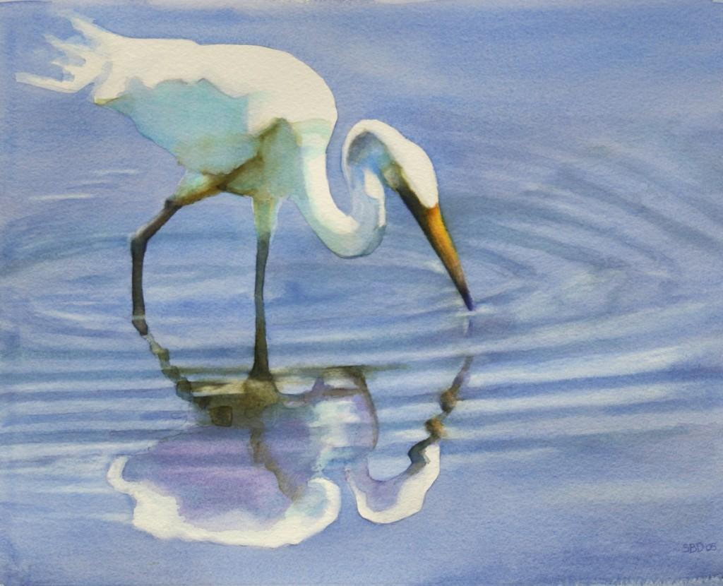 Wading Egret 1200