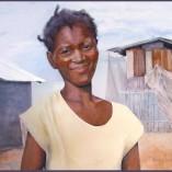ANITE - watercolor of Haitian woman - $1700